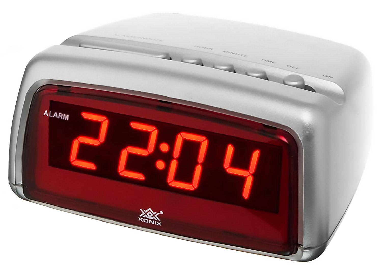 modern alarm clock xonix snooze digital led display