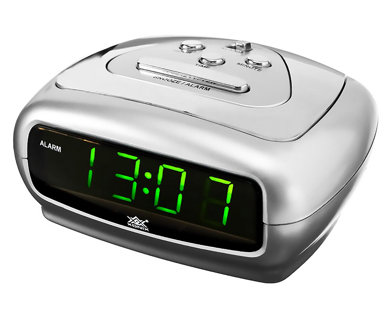 Small Alarm Clock Xonix Snooze Sharp Digital Led