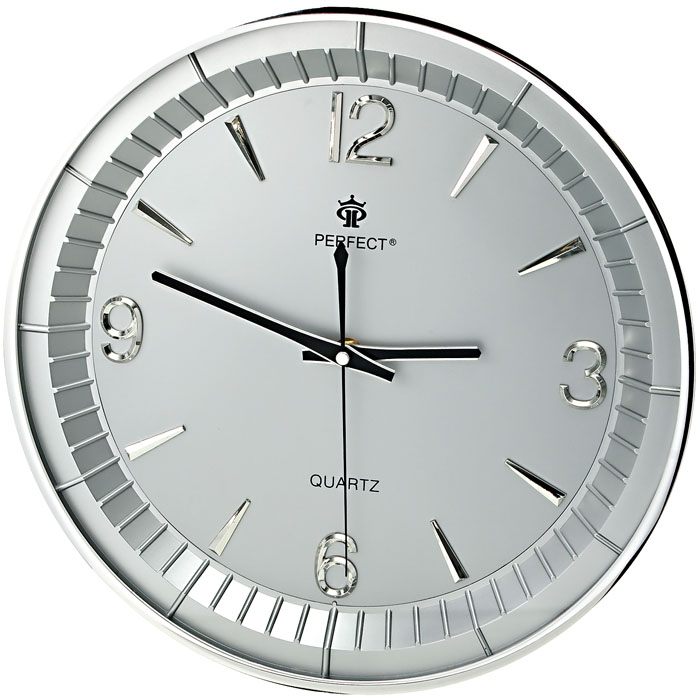 Modern Wall Clock Perfect Silent Sweep Round Case Ebay