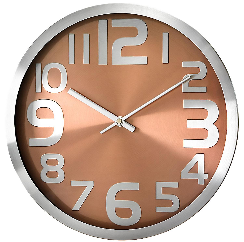 Modern Wall Clock – PERFECT – Metal Case , High Quality