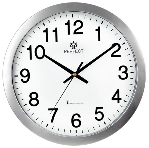 Modern Wall Clock Perfect Battery Powered Radio